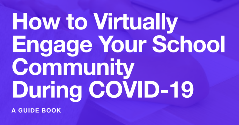How to virtually engage your school community during Covid-10