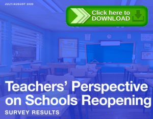Teachers' perspective on schools reopening